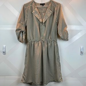 Jodi Kristopher Pattern Shirt Dress